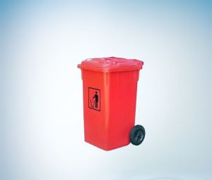 Medical trash can